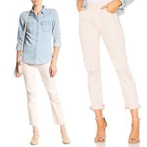 MOTHER Rascal High Waist Straight Leg Jeans New